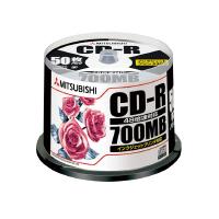 【三菱ケミカルメディア】 三菱化学 CD-R 50枚 SR80PP50 入数:1 ★お得な10個パック★
