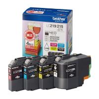 ブラザー LC219/215-4PKブラザー純正インク 4色パック LC219/215-4PK入数:1