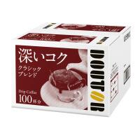 【ドトールコーヒー】 ドトール ドリップコーヒー クラシックブレンド 100袋 046646 入数:1 ★お得な10個パック★