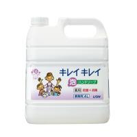 【ライオン】 キレイキレイ薬用泡ハンドソープ フローラルソープ 業務用 4L245209 入数:1 ★お得な10個パック