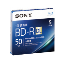 【SONY】 BD-R DL 50GB 5枚パック 5BNR2VJPS4 入数:1 ★お得な10個パック★
