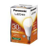 【Panasonic】 LED電球一般電球形 E26 30W形 下方向タイプ 電球色LDA4LHEW 入数:1 ★お得な10個パック