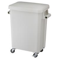 【リス】 厨房用キャスターペール45L グレー 排水栓付W505×D305×H595mmGGYK001 入数:1 ★お得な10個パック