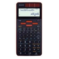 【シャープ】 関数電卓 EL-509T-RX レッド EL-509T-RX 入数:1 ★お得な10個パック★