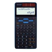 【シャープ】 関数電卓 EL-509T-AX ブルー EL-509T-AX 入数:1 ★お得な10個パック★