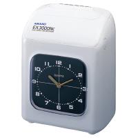 【アマノ】 電子タイムレコーダー EX3000NCーW 6印字欄 EX3000NC-W 入数:1 ★お得な10個パック★
