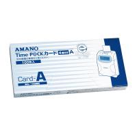 【アマノ】 タイムカード 月末・15日締切 TIMEPACK-Aカ-ド 入数:1 ★お得な10個パック★