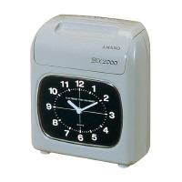 【アマノ】 電子タイムレコーダー BX2000 4印字欄 BX2000 入数:1 ★お得な10個パック★