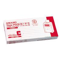 【アマノ】 タイムカード 25日・10日締切 TIMEPACK-Cカ-ド 入数:1 ★お得な10個パック★