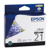 【エプソン】 エプソン対応純正インクカートリッジ ICBK21 (ブラック)ICBK21 入数:1 ★お得な10個パック