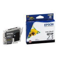 【エプソン】 エプソン対応純正インクカートリッジ ICBK23 (フォトブラック)ICBK23 入数:1 ★お得な10個パック