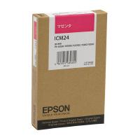 【エプソン】 エプソン対応純正インクカートリッジ ICM24 (マゼンタ)ICM24 入数:1 ★お得な10個パック