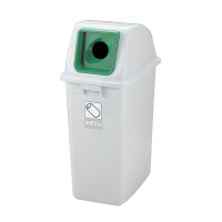 【リッチェル】 分別リサイクルペール65型 フタ 丸タイプ 緑93653 入数:1 ★お得な10個パック