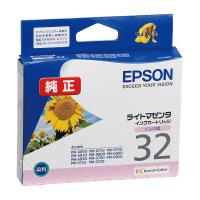 【エプソン】 エプソン対応純正インクカートリッジ ICLM32 (ライトマゼンタ)ICLM32 入数:1 ★お得な10個パック