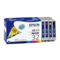 【エプソン】 エプソン対応純正インクカートリッジ IC4CL32 カラー(4色パック)IC4CL32 入数:1 ★お得な10個パック