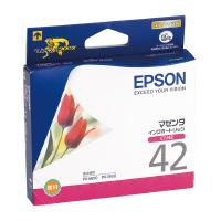 【エプソン】 エプソン対応純正インクカートリッジ ICM42 (マゼンタ) ICM42 入数:1 ★お得な10個パック★