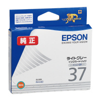【エプソン】 エプソン対応純正インクカートリッジ ICLGY37 (ライトグレー)ICLGY37 入数:1 ★お得な10個パック