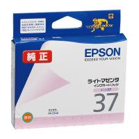 【エプソン】 エプソン対応純正インクカートリッジ ICLM37 (ライトマゼンタ)ICLM37 入数:1 ★お得な10個パック