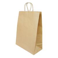 【王子アドバ】 自動手付け手さげ袋 茶 LL 360×170×480mmB-LL 入数:1 ★お得な10個パック