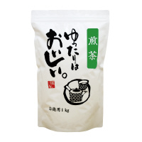 【三ツ木園】 ゆったりはおいしい。煎茶 1kg T-900 入数:1 ★お得な10個パック★