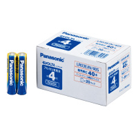 【Panasonic】 アルカリ乾電池EVOLTA業務用パック 単4形 40本入 LR03EJN/40S 入数:1 ★お得な10個パック★