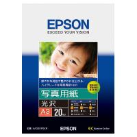 【エプソン】 インクジェット用紙 写真用紙<光沢> A3 20枚入KA320PSKR 入数:1 ★お得な10個パック