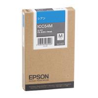 【エプソン】 エプソン対応純正インクカートリッジ ICC54M (シアン) ICC54M 入数:1 ★お得な10個パック★