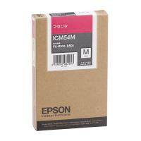 【エプソン】 エプソン対応純正インクカートリッジ ICM54M (マゼンタ)ICM54M 入数:1 ★お得な10個パック