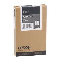 【エプソン】 エプソン対応純正インクカートリッジ ICBK54L (ブラック) ICBK54L 入数:1 ★お得な10個パック★