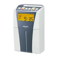 【アマノ】 タイムレコーダー CRX-200 シルバー 月毎集計なし CRX-200-S 入数:1 ★お得な10個パック★