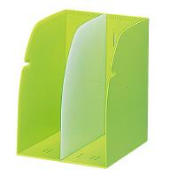 【リヒトラブ】 ブックスタンド W214×D204×H274mm 黄緑 G1620-6 入数:1 ★お得な10個パック★