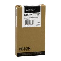 【エプソン】 エプソン対応純正インクカートリッジ ICBK39A (ブラック)ICBK39A 入数:1 ★お得な10個パック