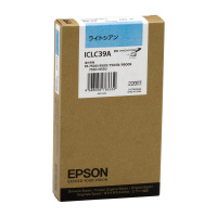 【エプソン】 エプソン対応純正インクカートリッジ ICLC39A (ライトシアン)ICLC39A 入数:1 ★お得な10個パック