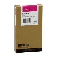 【エプソン】 エプソン対応純正インクカートリッジ ICM41A (マゼンタ)ICM41A 入数:1 ★お得な10個パック