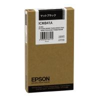 【エプソン】 エプソン対応純正インクカートリッジ ICMB41A (マットブラック)ICMB41A 入数:1 ★お得な10個パック