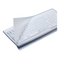 【エレコム】 キーボード防塵カバー (フリーカットタイプ) デスクトップ用 PKU-FREE1 入数:1 ★お得な10個パック★
