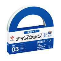 【ニチバン】 ナイスタックブンボックス強力タイプ 15mmx18m10巻入 NWBB-K15 入数:1 ★お得な10個パック★