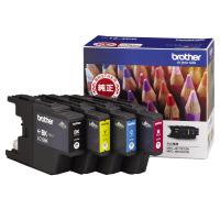 【ブラザー】 ブラザー対応純正インクカートリッジ LC12-4PK (4色パック)LC12-4PK 入数:1 ★お得な10個パック