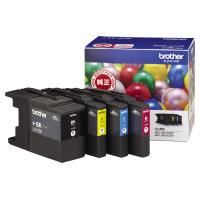 【ブラザー】 ブラザー対応純正インクカートリッジ LC17-4PK (4色パック)LC17-4PK 入数:1 ★お得な10個パック