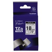 【ブラザー】 ピータッチ用TZeテープカセット 透明に黒文字18ミリ幅 TZE-141 入数:1 ★お得な10個パック★