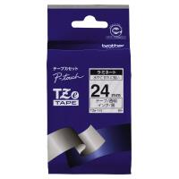 【ブラザー】 ピータッチ用TZeテープカセット 透明に黒文字24ミリ幅 TZE-151 入数:1 ★お得な10個パック★
