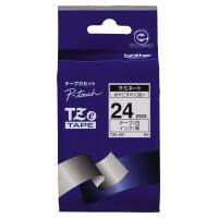 【ブラザー】 ピータッチ用TZeテープカセット 白に黒文字24ミリ幅 TZE-251 入数:1 ★お得な10個パック★