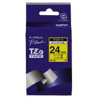 【ブラザー】 ピータッチ用TZeテープカセット 黄に黒文字24ミリ幅 TZE-651 入数:1 ★お得な10個パック★