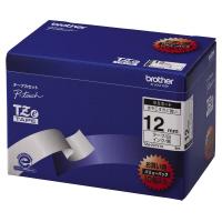 【ブラザー】 ピータッチ用TZeテープカセット 白に黒文字12ミリ幅 10本パック TZE-231V10 入数:1 ★お得な10個パック★