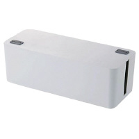 【エレコム】 OAタップ収納ボックス 6個口用 EKC-BOX001WH 入数:1 ★お得な10個パック★