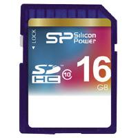 【シリコンパワー】 SDHCメモリーカード(高速タイプ) CLASS10 16GBSP016GBSDH010V1 入数:1 ★お得な10個パック