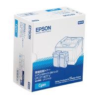 【エプソン】 環境推進トナーLPC3T18CPV シアン 2本パック LPC3T18CPV 入数:1 ★お得な10個パック★