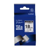 【ブラザー】 ピータッチ用TZeテープカセット フレキシブルIDテープ白に黒文字18mm TZE-FX241 入数:1 ★お得な10個パック★