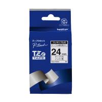 【ブラザー】 ピータッチ用TZeテープカセット フレキシブルIDテープ白に黒文字24mm TZE-FX251 入数:1 ★お得な10個パック★