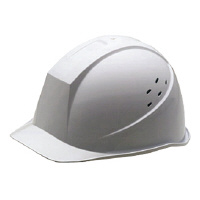 【ミドリ安全】 通気孔付きヘルメットスーパーホワイト 一般作業用通気孔付 40-01-2012-04 入数:1 ★お得な10個パック★